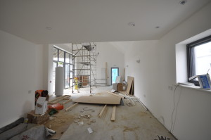 Internal from kitchen to living